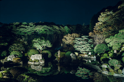 Special viewing of the Jojuin garden<br>